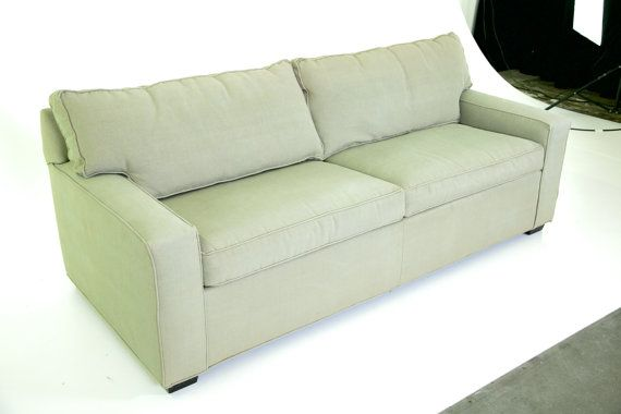 Mitchell Gold Couch ALEX sleeper Luxe sofa w/ by VintageRescues
