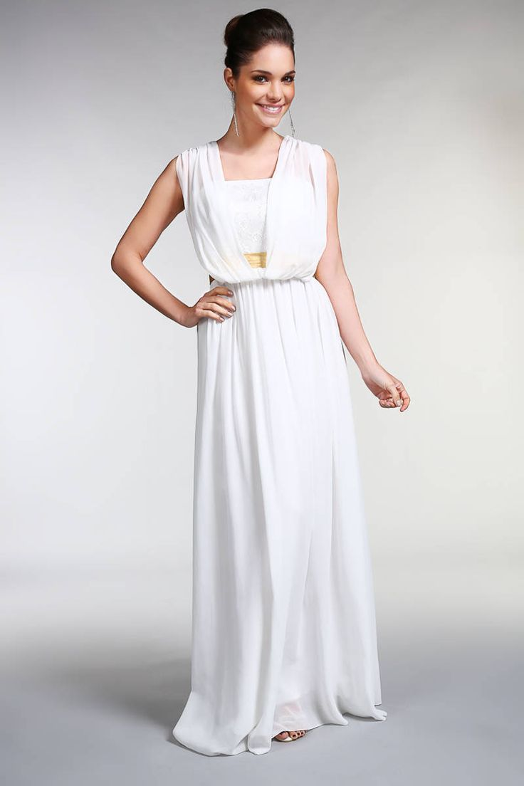 Robe longue blanche pas cher grande taille