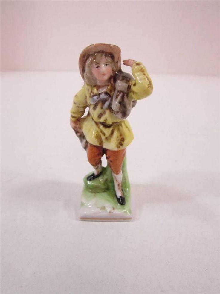 "Vintage Germany Figure Marked N Crown Colonial Style Man Figurine 3 1/4"" Tall    eBay #figurines #colonial #vintage"