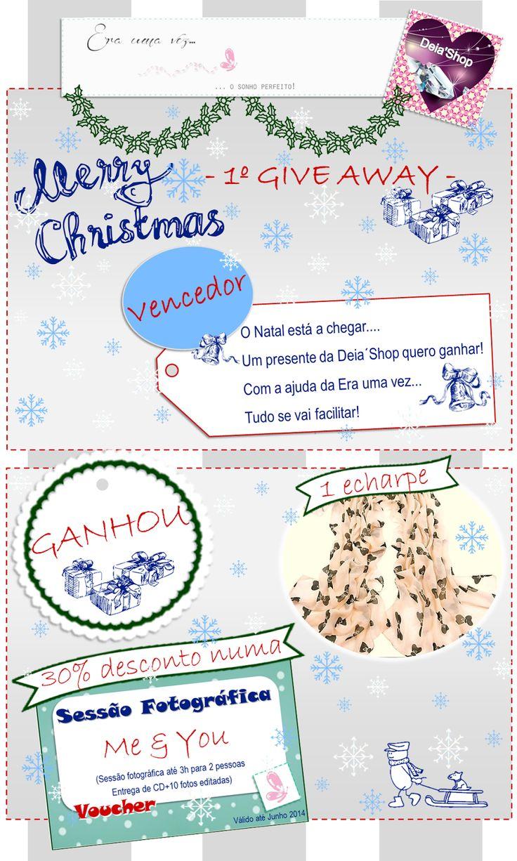 """And the winner of the first week Contest """"Santa is comming"""" is... Read more: http://eraumavez-osonhoperfeito.blogspot.pt/2013/12/vencedor-do-4-concurso-era-uma-vez-1.html"""