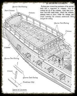 The galley washington - 1776 - plank on frame ship model project and plans
