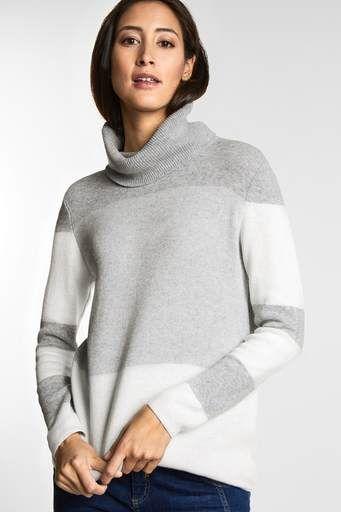24286aefba1841 Gebreide artikelen   sweatshirts - Truien   gebreide vesten - STREET ONE  onlineshop
