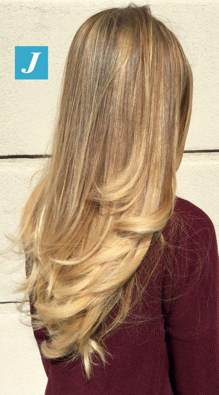 The hair of your dreams _ Degradé Joelle  #cdj #degradejoelle #tagliopuntearia #degradé #igers #musthave #hair #hairstyle #haircolour #longhair #ootd #hairfashion #madeinitaly #wellastudionyc