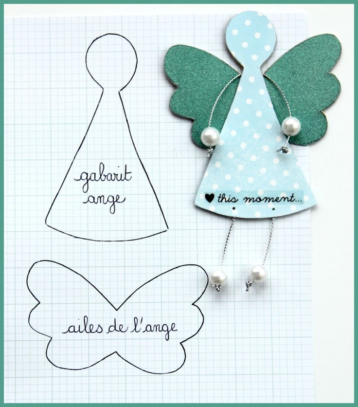 DIY paper angel idea ^^