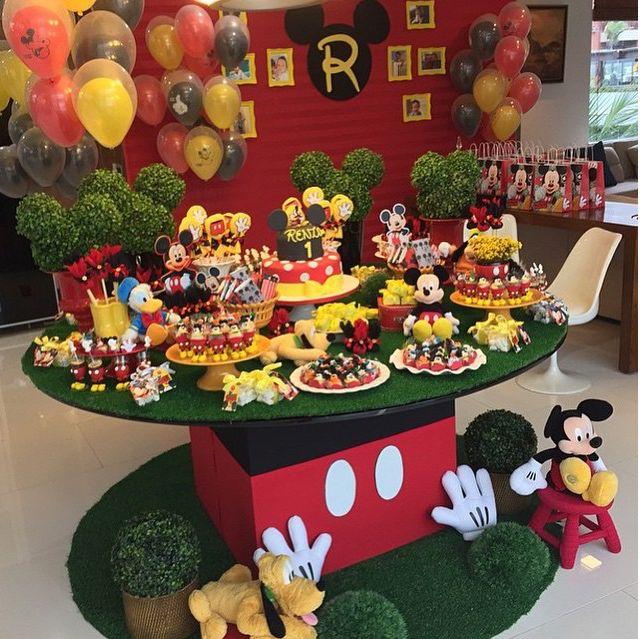 Tema de festa: Mickey