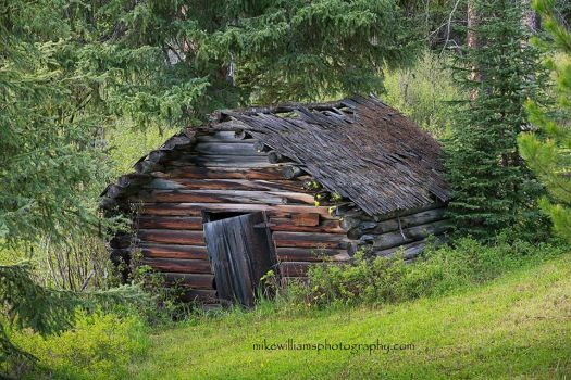 Old Cabin near Seeley Lake - Montana... Image copyright: Mike Williams