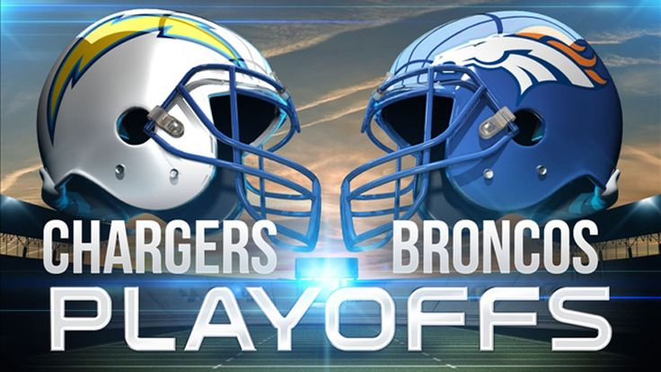 Divisional Round - Chargers vs. Broncos.  GO CHARGERS!!