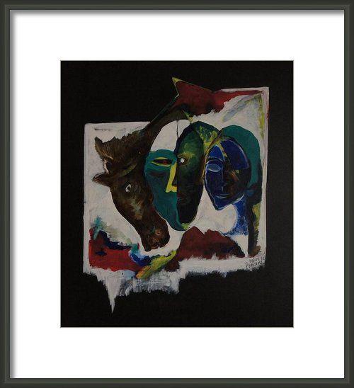 Beast Of Burden Framed Print By Prabhu Kendakur FRAMED PRINTS FROM FINE ART AMERICA