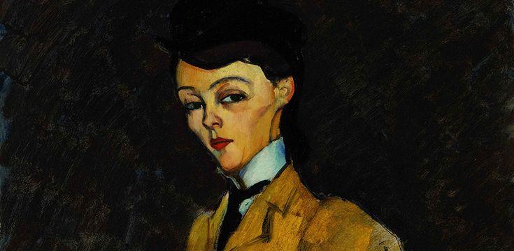 Amedeo Modigliani: L'Amazone By Amedeo Modigliani