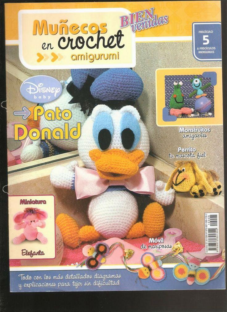 Como hacer Pato Donald en crochet