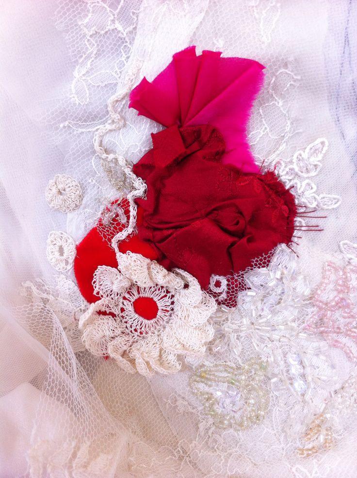 Phantom dress (detail)