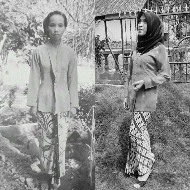 Kebaya Jawa made by Mama #kartiniday #jawa #solo #kebaya #indonesia