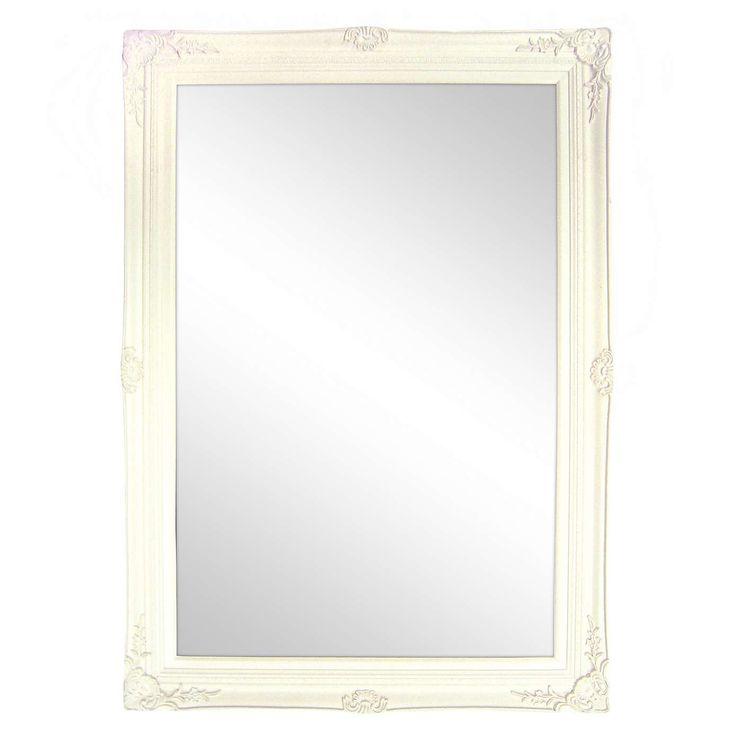 Vintage Swept Bevelled Mirror | Dunelm