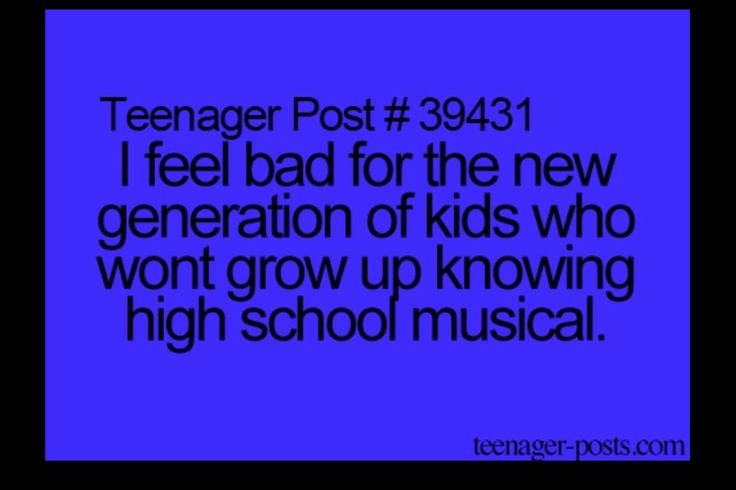 This is me and my friends every time we watch it and we love HSM and won't want to see a generation with out it