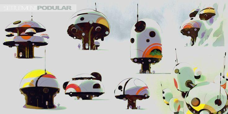 ArtStation - Characters and Worlds, Calum Alexander Watt