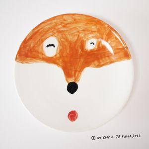 Dog plate by Mogu Takahashi