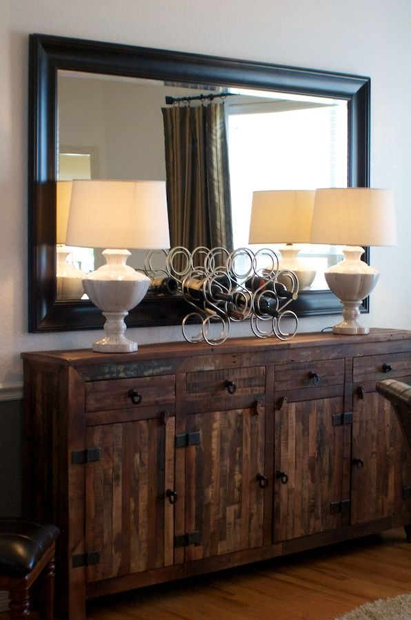 Delightful FOUND THIS   Different Stain And Bought For Dinning Room....Beautiful Rustic  · Dining Room BuffetDining ...