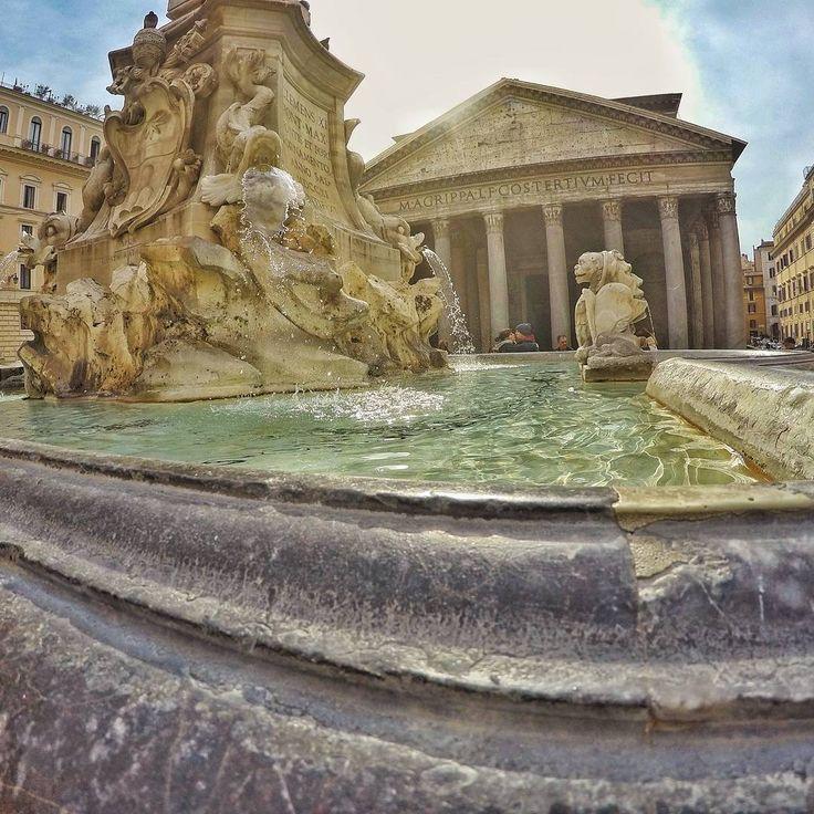 "24 Likes, 1 Comments - LiX Filmmaker (@olixandru) on Instagram: ""#gopro #goprohero4 #gorpohero4black #goprohero #rome #roma #italia #italy #pantheon"""