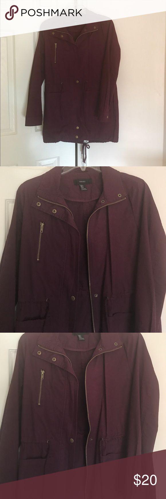 Purple plum utility jacket NEW!!!!   Hasn't been worn!!   Size: small in women's Jackets & Coats Utility Jackets