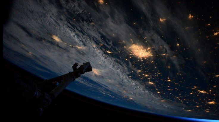 NASA astronaut Scott Kelly is getting comfortable on the ISS, a satellite more than 200 miles above Earth where he will be spending the next year.