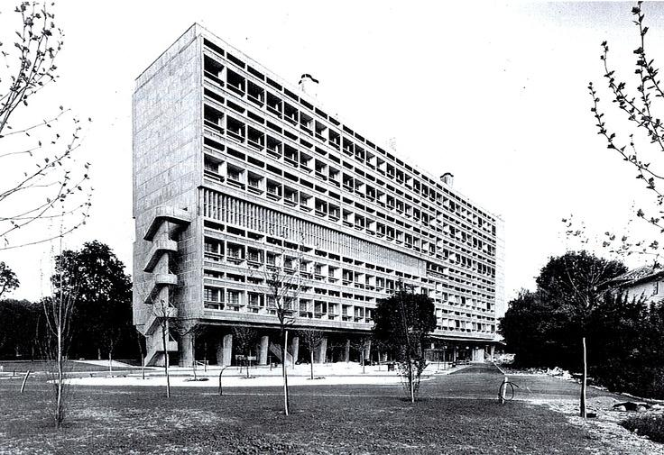 Le Corbusier, Unité d´Habitation, Marseilles, Francie, 1946-52