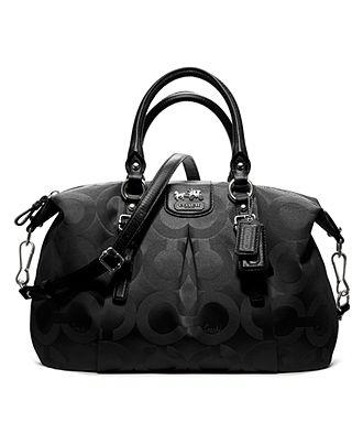 COACH MADISON OP ART SATEEN JULIETTE - Coach Handbag - Macy s $298