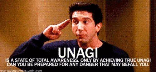 UNAGI - Isn't that a type of sushi??
