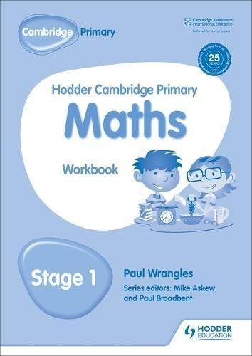 Hodder Cambridge Primary Maths Workbook 1 Pdf Download e-Book