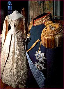 Coronation Uniform of Emperor Nicholas II and Empress Alexandra.