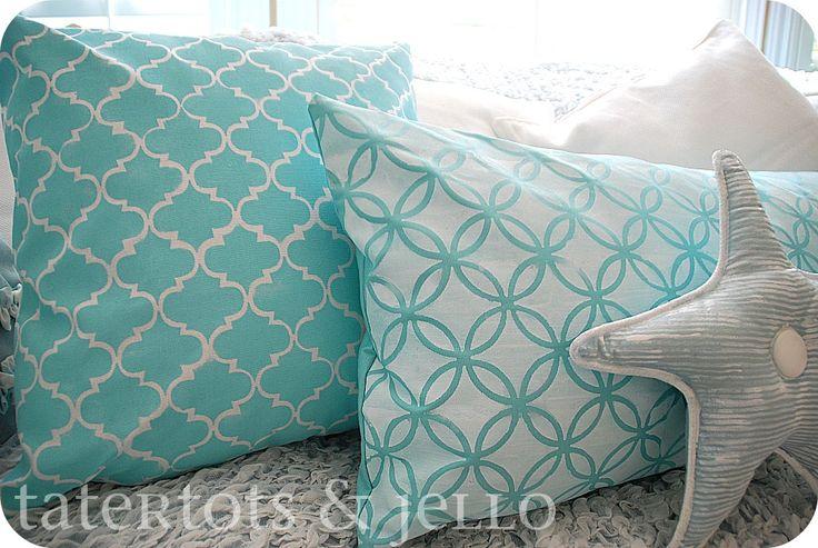 Martha wins again - DIY pillows