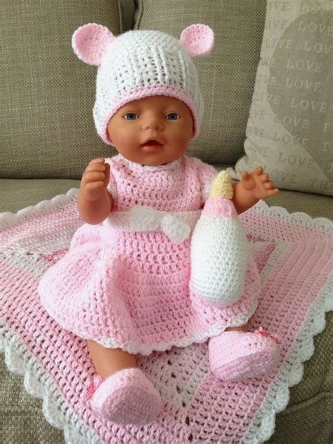 Free Crochet Patterns For Bitty Baby Doll Clothes 200 Best Images