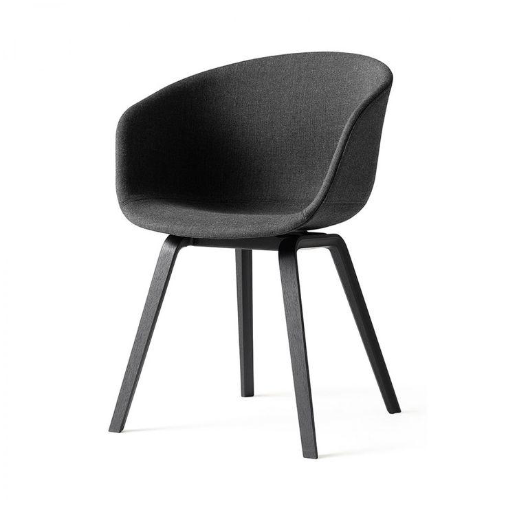 Hay AAC23 spisebordsstol - polstret - Vælg ben