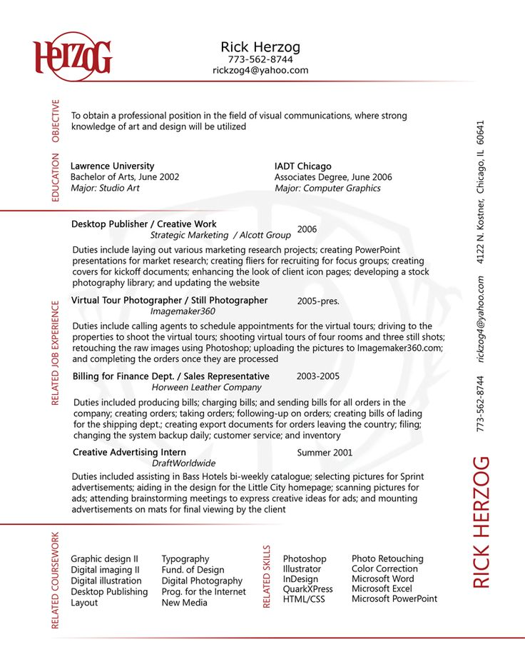 Resumes: 1000+ Images About Stylish CVs On Pinterest