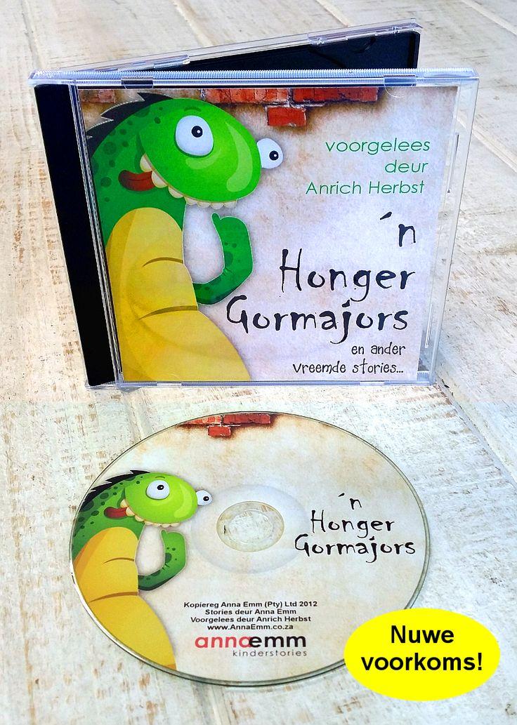 'n Honger Gormajors en ander vreemde stories (op CD voorgelees deur Anrich Herbst).  Afrikaanse Kinderstories! Beskikbaar by www.AnnaEmm.co.za