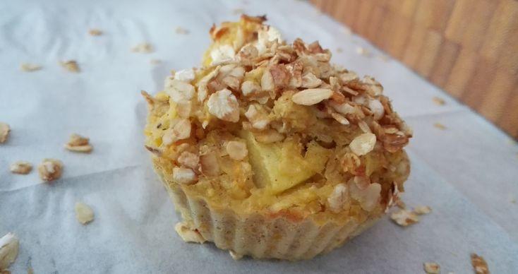Recept voor semi-gezonde appel wortel cupcakes, zonder suiker en tarwe. Deze cupcakes bevatten onder andere appel, wortel en havermout...