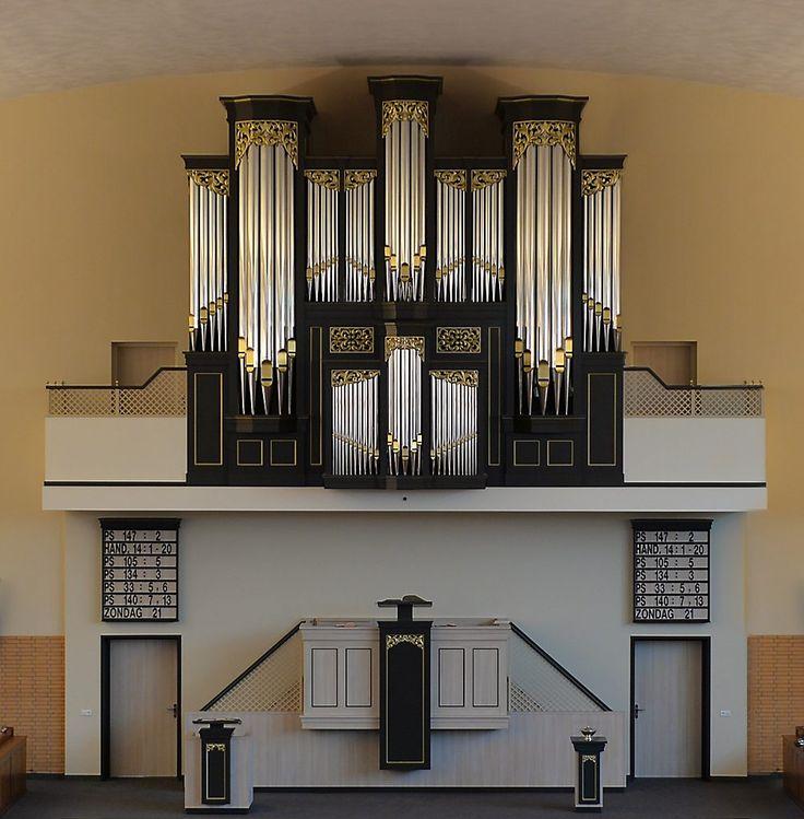 Boogaardorgel Gereformeerde Gemeente Barneveld - Boogard organ Reformed Congregation Barneveld