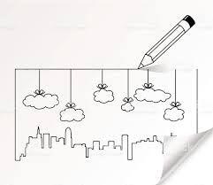 Картинки по запросу рисунок города карандашом