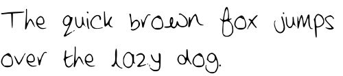FREE Handwriting font creator
