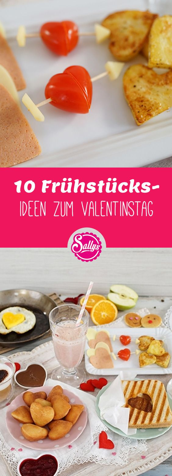 Du weißt nicht wie du das Frühstück mit deinem Partner am Valentinstag noch schöner machen kannst? Hier hast du 10 Frühstücks-Ideen zum Valentinstag!