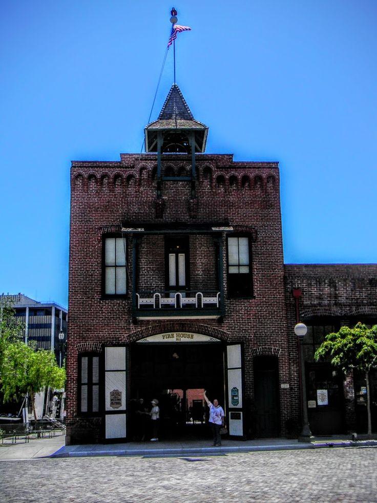 FIRST FIRE HOUSE @ LA PLACITA- OLVERA STREET, L.A.