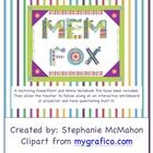 only $7 during the BTS sale Mem Fox author study with matching PowerPoint and Mimio notebook file $