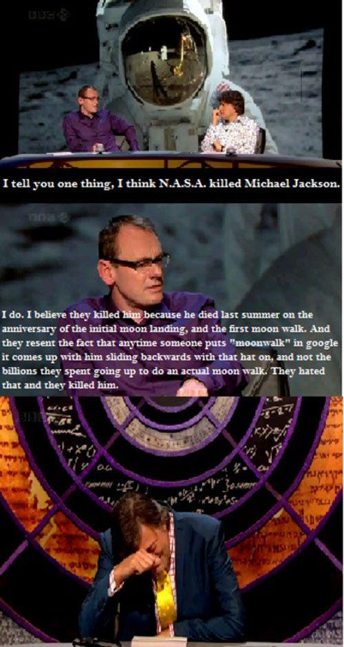 HAHAHA...NASA conspiracy!!
