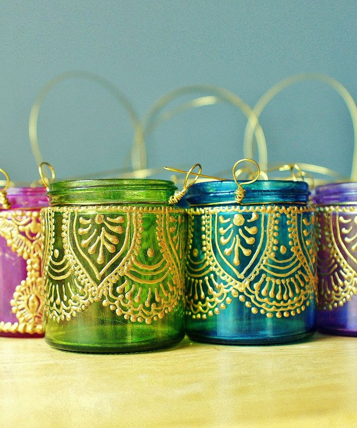 Royalty Hanging Votives - Handmade Moroccan Nights Collection - Dot & Bo
