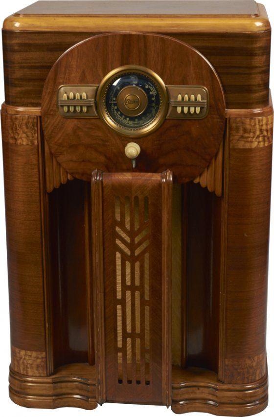158 best Old Zenith Radios images on Pinterest | Antique ...