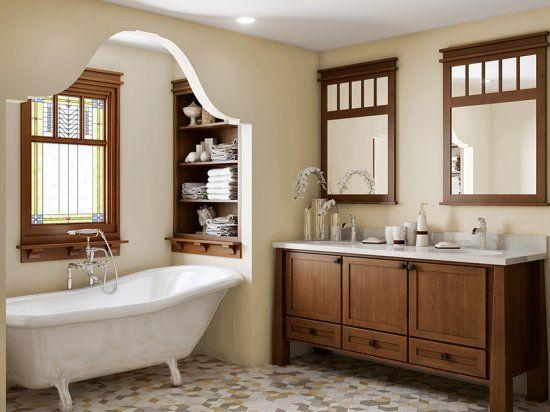 Mahogany Bathroom Cabinets