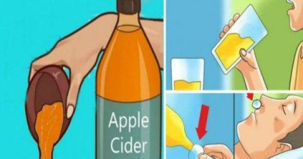 Πιείτε μηλόξιδο πριν πέσετε για ύπνο και παρατηρήστε αυτές τις αλλαγές στην υγεία σας!
