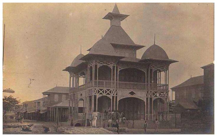 Centennial Palace in Gonaives, Haiti c.1904
