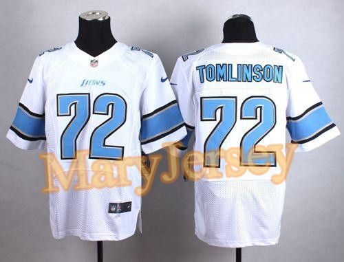 4396b51d095 ... Nike Lions Laken Tomlinson White Mens Stitched NFL Elite Jersey And  Bengals Vontaze Burfict 55 jersey ...
