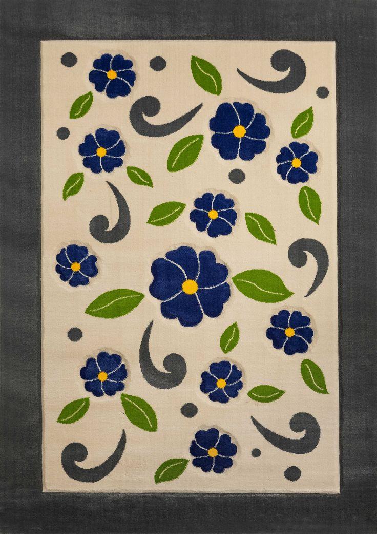 Cilek Violet Teppich  So richtig gemütlich wird es erst mit einem schönen Teppich in den passenden Farben. Farblich abgestimmt zum Rest der Zimmereinrichtung unterstreicht er diese und bleibt dennoch betont im... #kinder #teppich #cilek