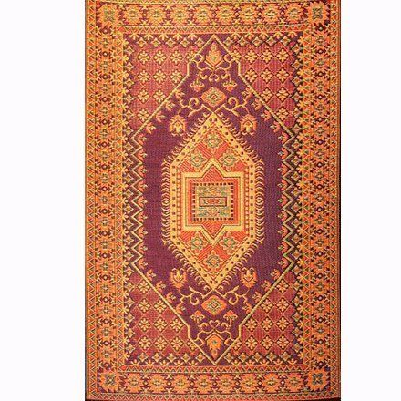 Mad Mats Oriental Turkish Indoor/Outdoor Floor Mat, 4 by 6-Feet, Rust by Mad Mats. $44.62. Save 13% Off!